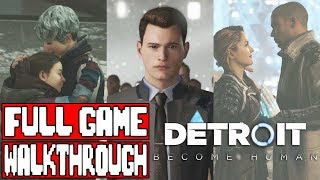 DETROIT BECOME HUMAN Gameplay Walkthrough Part 1 FULL GAME - No Commentary (Good Path)