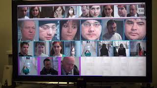 Трекинг лиц. Тест на разных камерах, как они передают друг другу лица