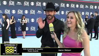 "Aaron Watson Talks New Album ""Red Bandana"" | 54th ACM Awards | AfterBuzz TV"