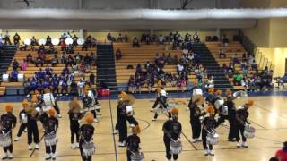Whitehaven High School Drumline - (Mr Telephone Man) New Edition