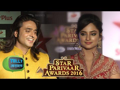 Ram & Sita Look Stunning At The Star Parivaar Awar