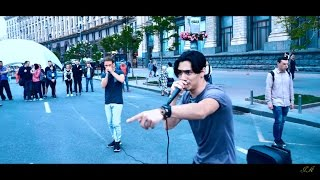 MADNESS in EUROVISION ZONE!! Disturbing peace in Kyiv! ENGLISH VLOG [eurovision 2017 in Kyiv] | 4