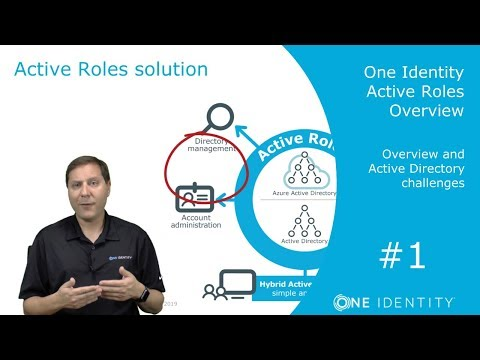 One Identity Active Roles | Overview #1 | The Active Directory Challenge