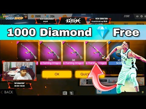 New Diamond Offer || Dragon AK47 Permanent || Giveaway Winner How to Claim - Garena Free Fire