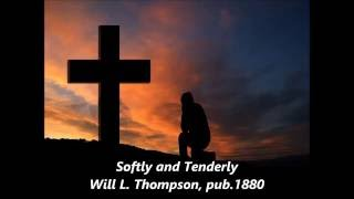 SOFTLY And TENDERLY Lyrics Words Best Popular Christian Religious Hymns Songs not Alan Jackson