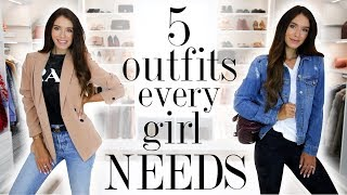 5 Outfits EVERY Girl Should Own!