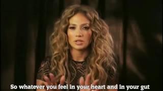 Jennifer Lopez -  Inspiring Words