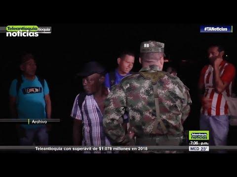 Ataque a patrulla dejo un militar herido en Caucasia - Teleantioquia Noticias