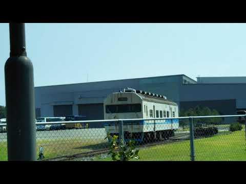 日本総合リサイクルの工場から419系(クハ418-1)を見てきました