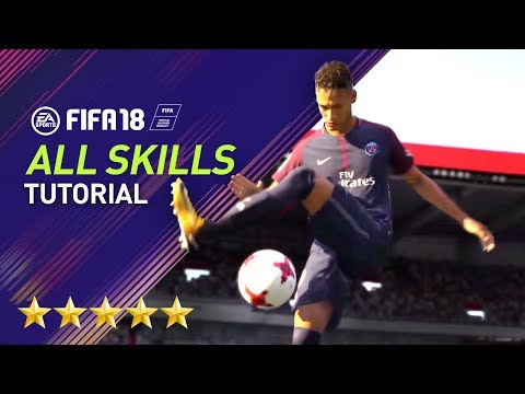 FIFA 18 | ALL 80 SKILLS TUTORIAL | PS4/XBOX ONE