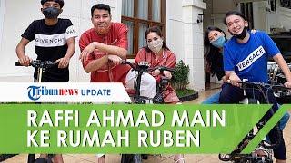 Raffi Ahmad Main Ke Rumah Ruben Onsu, Thalia Ungkap Ogah Main ke Rumah Rafathar: Boys Harus ke Girls