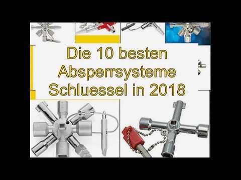 Die 10 besten Absperrsysteme Schluessel in 2018