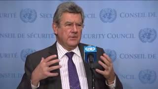 SC President, Elbio Rosselli (Uruguay) on Guinea-Bissau, Lebanon & DPRK