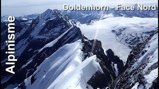 Alpinisme : Doldenhorn Face Nord - 3638 m