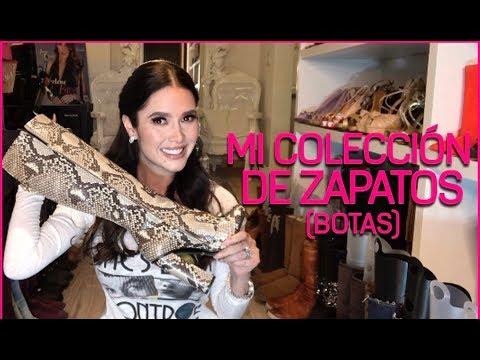 MI COLECCIÓN DE ZAPATOS (BOTAS Y BOTINES) Marlene Favela