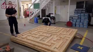 This Stabilization Maze (DIY Firefighter Prop) Makes Training FUN!