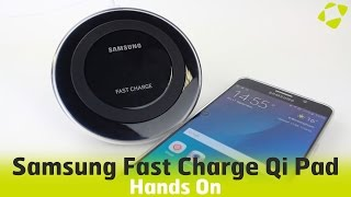 Official Samsung Fast Charge Qi Wireless Charging Pad Hands On Review