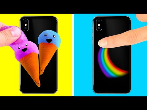 Download 22 COOL DIY PHONE CASES HD Mp4 3GP Video and MP3