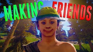 TRYING To MAKE NEW FRIENDS | Rust Survival