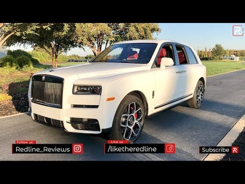 2020 Rolls-Royce Cullinan Black Badge – Redline: First Look