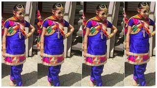 Kids Punjabi Suit Design I! Patiala Salwar Suits For Girls/cute Indian Outfits Ideas For Little Girl