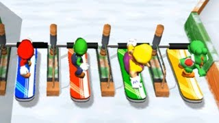 Mario Party 8 - All Racing Minigames