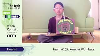 3rd place winner - Team #205: Kombat Wombats