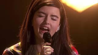 "Video thumbnail of ""Angelina Jordan - Bohemian Rhapsody - America's Got Talent: The Champions One - January 6, 2020"""