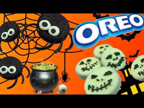 DIY – ОРЕО РЕЦЕПТЫ на Хэллоуин | КАК СДЕЛАТЬ ДОМА / OREO Recipies for Halloween