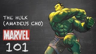 Orphaned Genius - Hulk (Amadeus Cho)