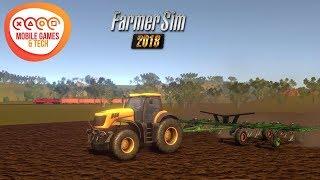 Farmer Sim 2018 [Android/IOS] Ultra Graphics    FREE Farming Simulator Game
