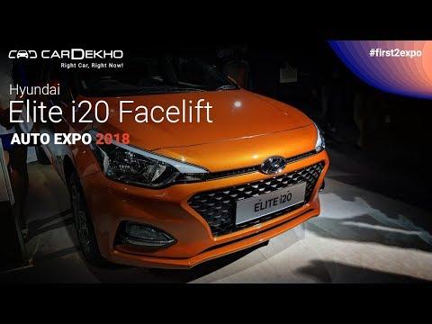 Hyundai Elite i20 Facelift Launched At Auto Expo 2018