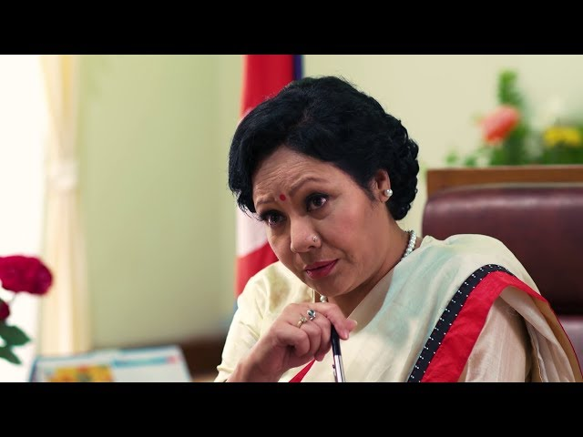 Fictional female prime minister tackles air pollution in teleserial