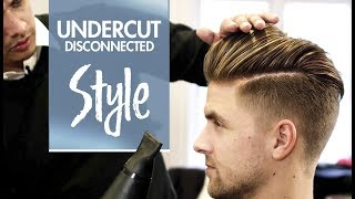Disconnected Undercut - Mens Hair & Styling Inspiration - 4k Hairstyle