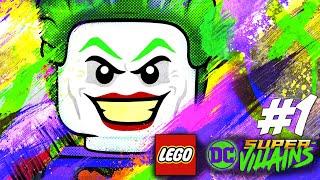 VI ER SUPER SKURK! - LEGO DC Super Villains Dansk Ep 1 [PS4 Pro]