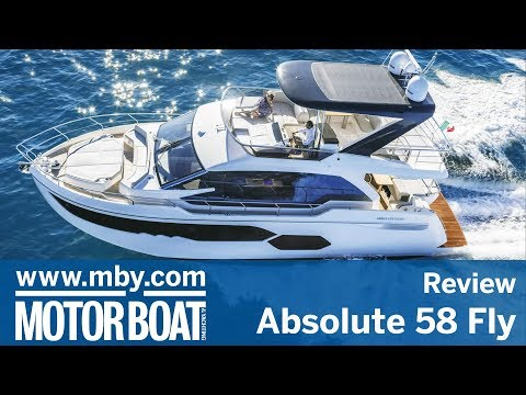 Absolute 58 Fly | In-depth walkaround review | Motor Boat & Yachting