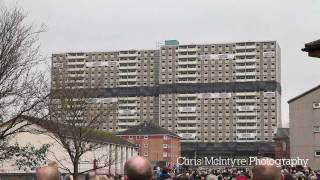 preview picture of video 'Glencairn Tower Demolition, Motherwell'