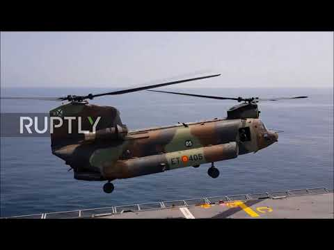 Spain: Military show off capabilities in bid for EU-wide defence role