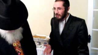 "Rav Eluzer Katz Shlit""a Saying Purim Torah"
