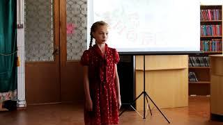 Конкурс Отзвуки Победы - Дарья Колпакова
