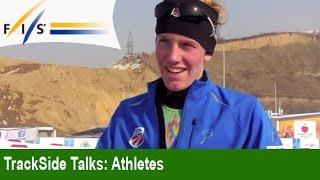 preview picture of video 'Interviews JWSC Almaty 2015, Ind. Gundersen 5 km'