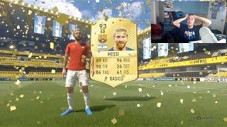 GLITCH ASSURDO! MESSI IN A PACK!!!!!!!!!!! FIFA 17