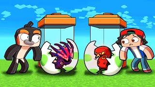 1v1 Pixelmon MYSTERY EGG Challenge! (Minecraft Pokemon)
