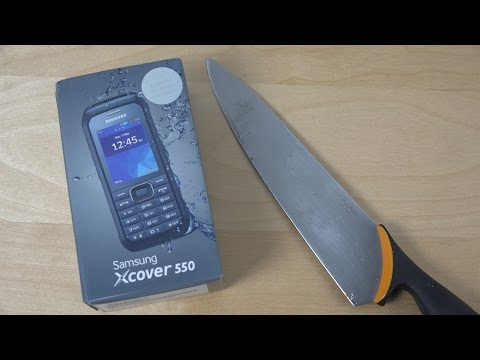 Samsung Xcover 550 - Unboxing (4K)