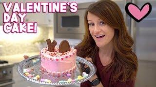 Making A Valentine's Day Cake! 💕