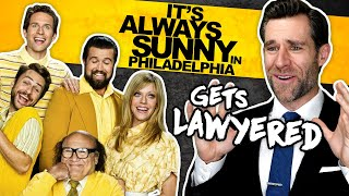 Real Lawyer Reacts to It's Always Sunny in Philadelphia - McPoyle v. Ponderosa (Bird Law!)