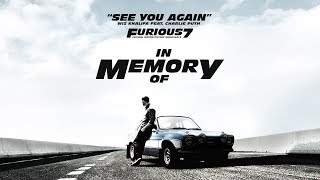 Wiz Khalifa -  Charlie Puth See You Again Ft. One Call Away