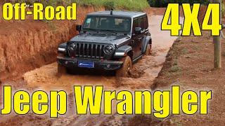 Jeep Wrangler Rubicon no Off-Road 4x4