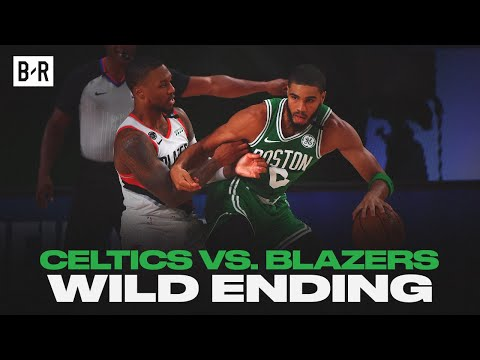 Final 5 Minutes of Celtics vs. Blazers | WILD Finish