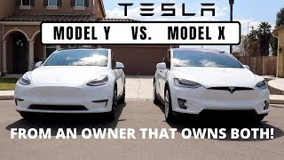 TESLA MODEL Y VS. MODEL X... An Opinion From Someone Who Owns BOTH!